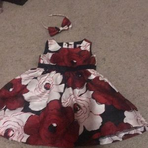 Gymboree dress and head band 6-12 months